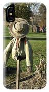 Early Autumn Scarecrow IPhone Case