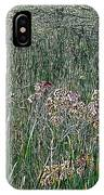 Early Fall Color Woodcut IPhone Case
