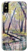 Early Fall On East Canyon Creek IPhone Case