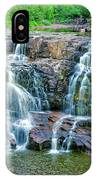 Early Morning At The Upper Falls IPhone Case