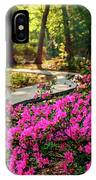 Early Morning In Honor Heights Park IPhone Case
