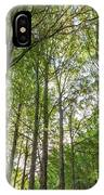 Early Morning In The Forest IPhone Case