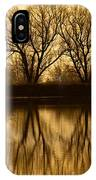Early Morning Reflections IPhone Case