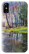 Early Spring In Bear Mountain IPhone Case