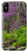 Early Spring On Mill Creek 2 IPhone Case