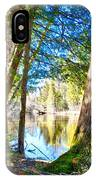 Early Spring On The River IPhone Case
