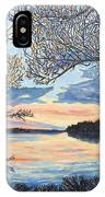 Early Spring Sunset IPhone Case