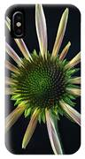 Early Stage Of Cone Flower Bloom IPhone Case