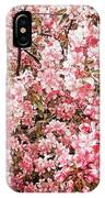 Earth Tones Apple Blossoms  IPhone Case
