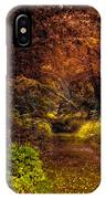 Earth Tones In A Illinois Woods IPhone Case