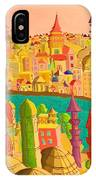 East And West IPhone Case