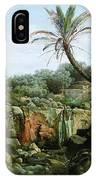East Landscape Henryk Semiradsky IPhone Case