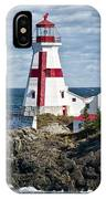 East Quoddy Lighthouse IPhone Case