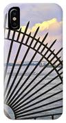 East River View Through The Spokes IPhone Case