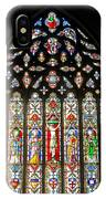 East Stained Glass Window Christ Church Cathedral 1 IPhone Case