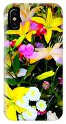Easter Flowers IPhone Case