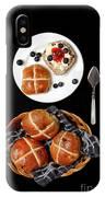 Easter Hot Cross Buns  IPhone Case