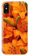 Easter Lilies IPhone Case