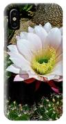 Easter Lily Cactus IPhone Case