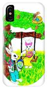 Easter Show Some Bunny Love IPhone Case