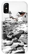Eastern Point Light IPhone Case
