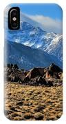 Eastern Sierras 2 IPhone Case