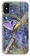 Eastern Tailed Blue IPhone Case