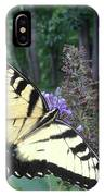 Eastern Tiger Swallowtail Sipping Nectar IPhone Case