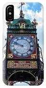 Eastgate Clock In Chester IPhone Case