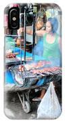 Eat Ost Street IPhone Case
