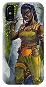 Ebony Elf IPhone Case