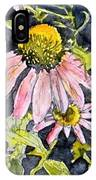 Echinacea Coneflower 2 IPhone Case