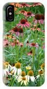 Echinacea Multi Mix IPhone Case