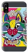 Eclectic Cat IPhone Case