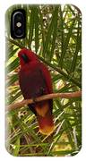Eclectus Parrot 2 IPhone Case