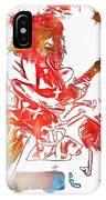 Eddie Van Halen Paint Splatter IPhone Case