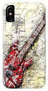 Eddie's Guitar 3 IPhone Case