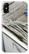 Edgartown Fishing Boat IPhone Case