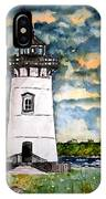 Edgartown Lighthouse Martha's Vineyard Mass IPhone Case