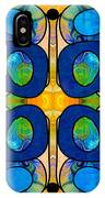 Edible Extremes Abstract Bliss Art By Omashte IPhone Case