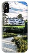 Edith Wharton Mansion IPhone Case