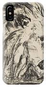 Edvard Munch,  The Lion Tamer IPhone Case