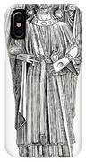 Effigy Of King John On His Tomb In IPhone Case