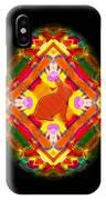 Egg Easter On Black IPhone Case