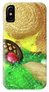 Eggs And A Bonnet For Easter IPhone Case