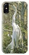 Egret 1 IPhone Case