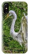 Egret - 3419 IPhone Case