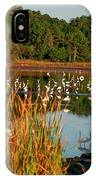 Egret Lake IPhone Case