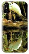 Egret Reflecton IPhone Case
