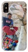 Egypt - Boy With A Camel IPhone Case